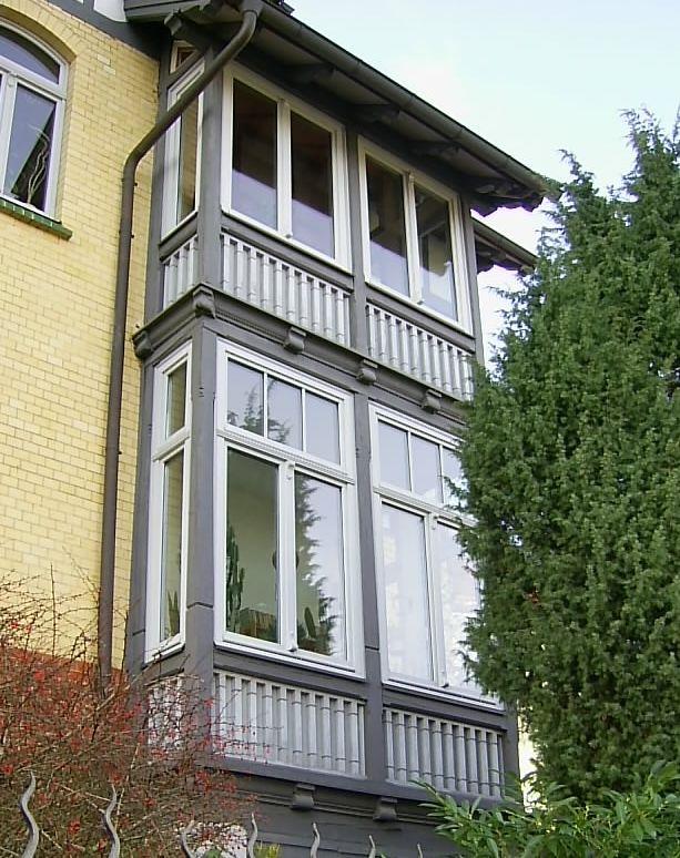 Loggia Oder Verglaster Balkon