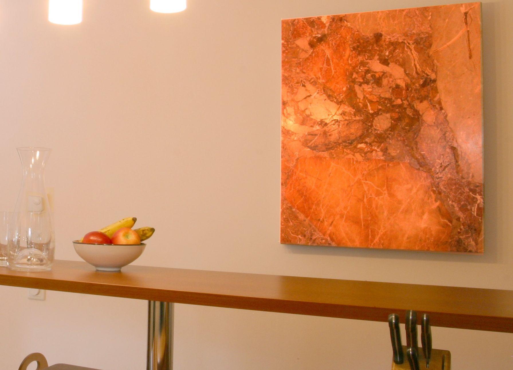 marmorheizung in der k che. Black Bedroom Furniture Sets. Home Design Ideas