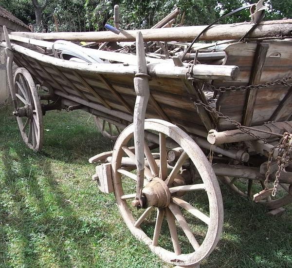 Bremsen Früher und HeuteAm Leiterwagen kann man noch sehen, wie die ...