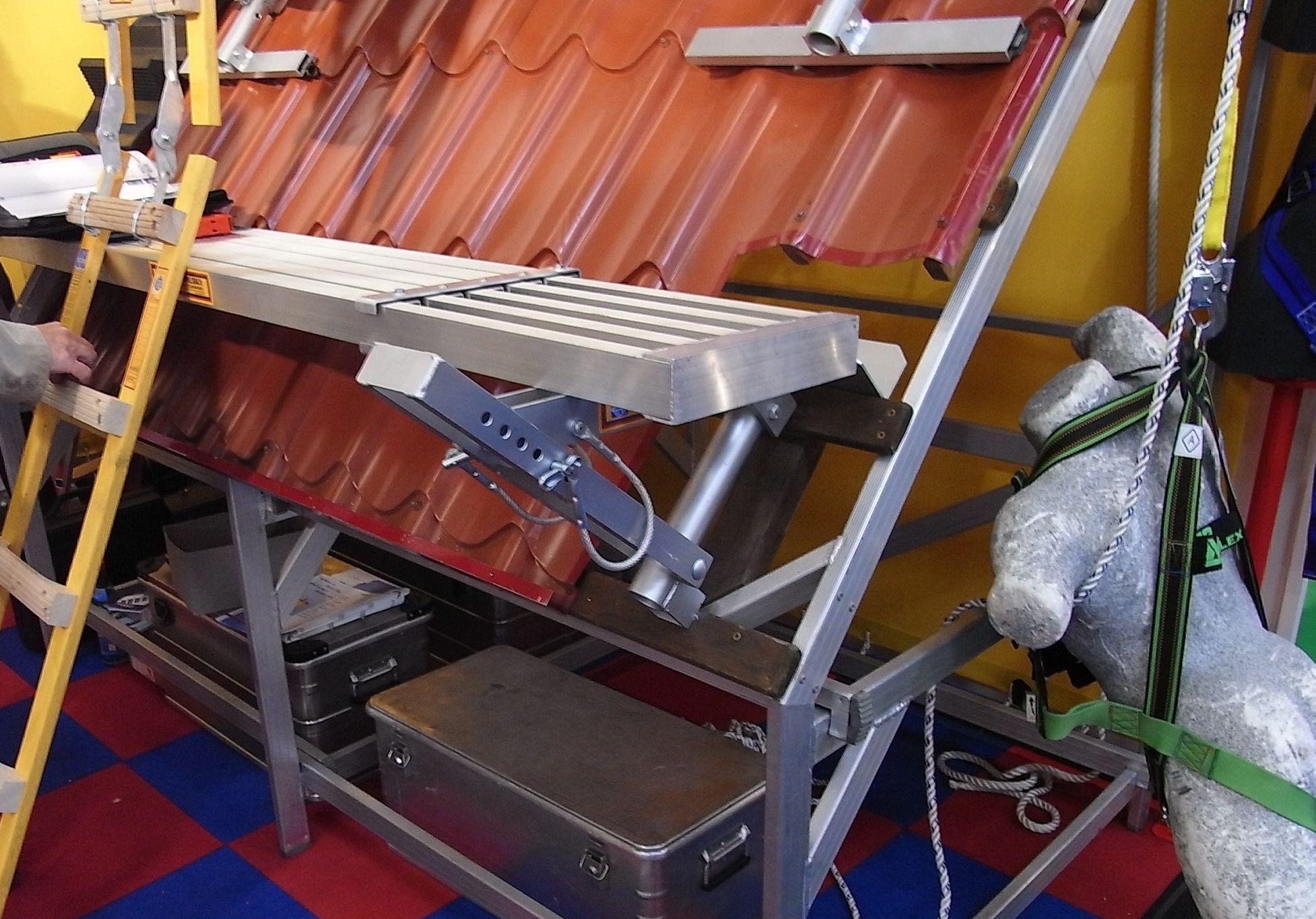 leitern und ger ste zur photovoltaik montage. Black Bedroom Furniture Sets. Home Design Ideas