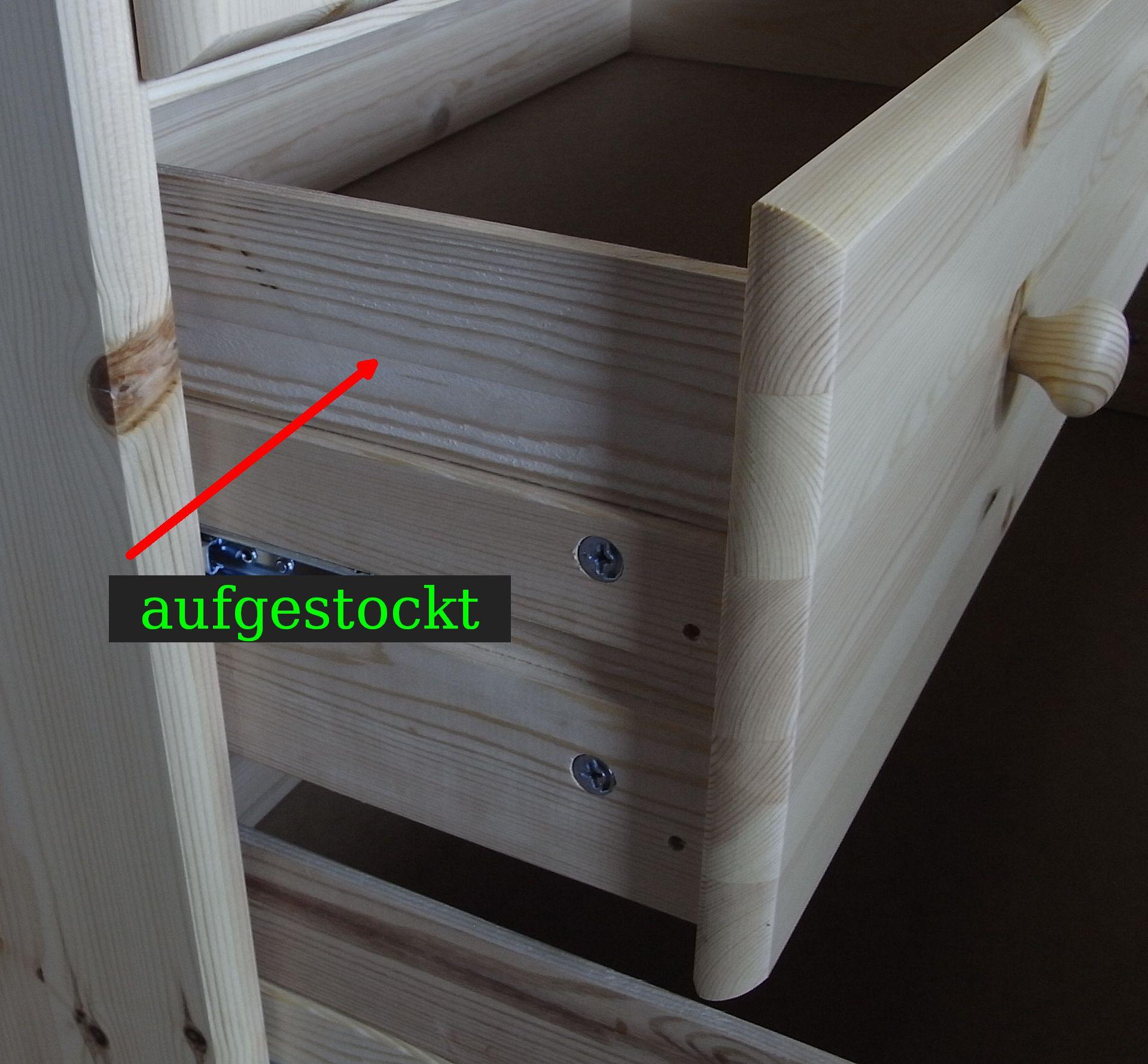 schubkasten aufgestockt. Black Bedroom Furniture Sets. Home Design Ideas