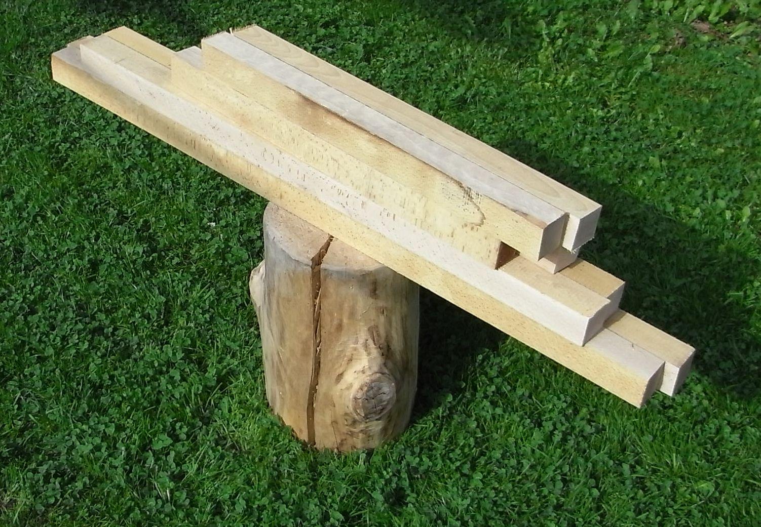Treppengeländer Holz Restaurieren ~ Buchenbohlen für TreppengeländerDie Treppe nach oben braucht