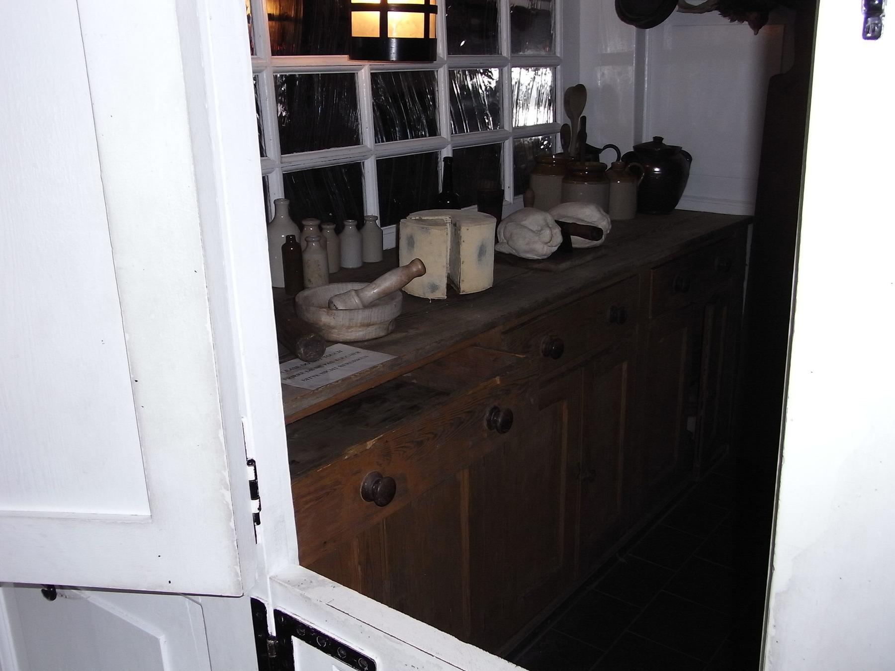 Küche auf dem Schlachtschiff