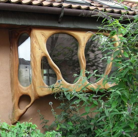 Holzfenster ohne Ecken und Kanten