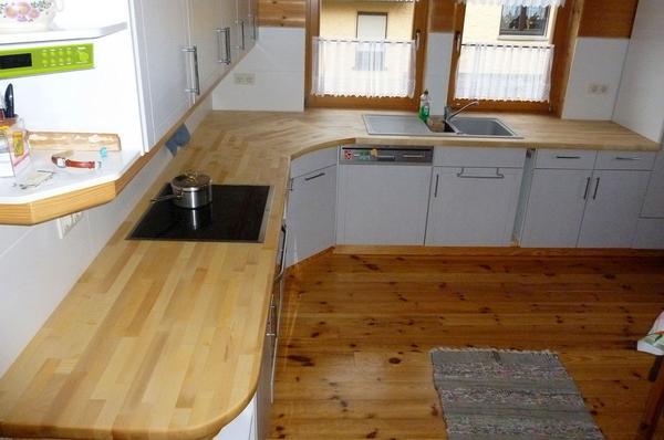 k chenarbeitsplatte ahorn. Black Bedroom Furniture Sets. Home Design Ideas